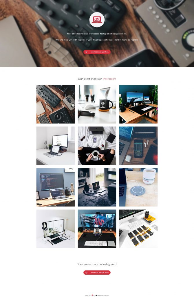 Workspace Inspiration 1